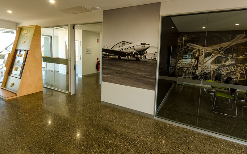 3-D interactives Brisbane War Heritage