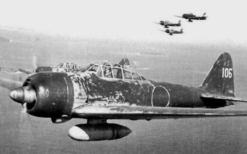 Zero flown by Japanese ace Hiroyoshi Nishizawa over the Solomon Islands, 1943