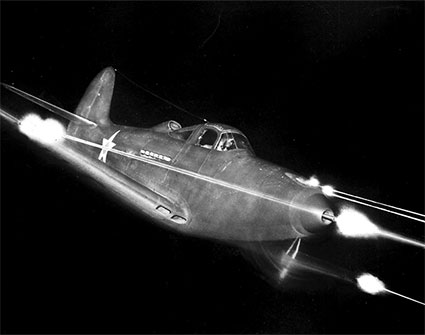The Bell P-39 Airacobra with Allison V12 power plant