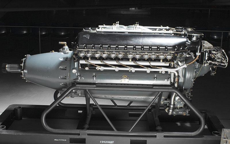 Allison Aircraft Engine Model V1710-39 F Series – Serial Number 3193