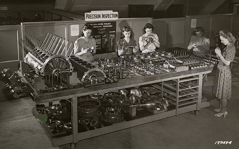 Allison Engine testing - precision testing