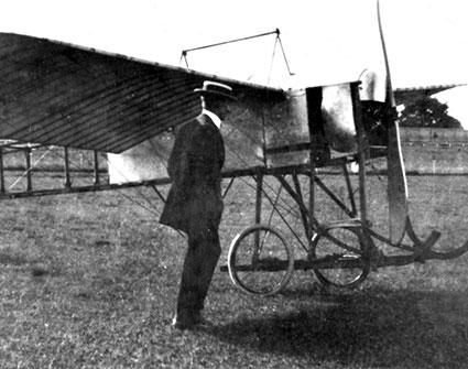 Metz-Blériot at Eagle Farm